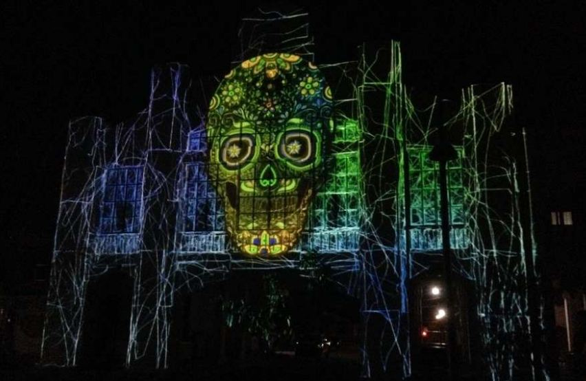 Video Mapping: El Expositor de Ideas
