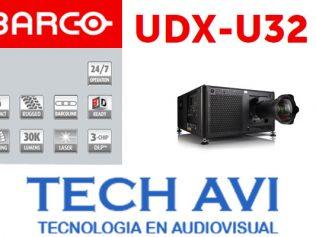 ¿Ya conoces el Proyector Barco UDX-U32?