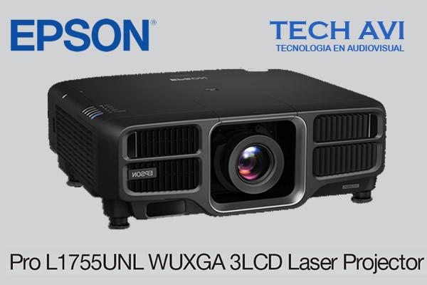Traemos para ti el Proyector Láser Epson Pro L1755UNL WUXGA 3LCD