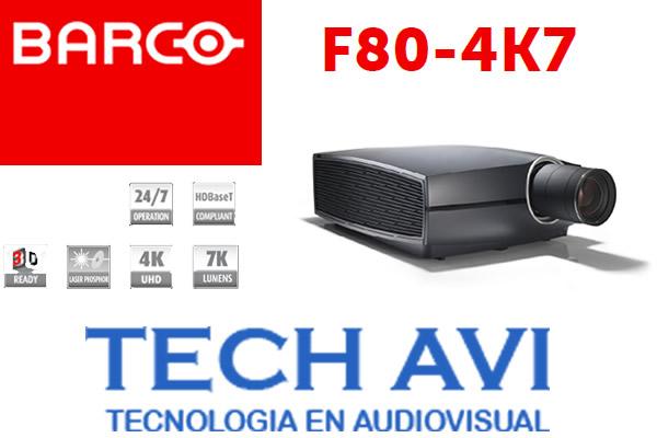 Conoce el proyector F80-4K7 de Barco