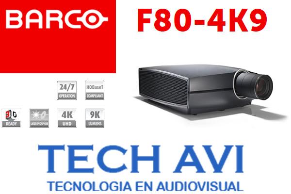 Te mostramos el proyector F80-4K9 de Barco